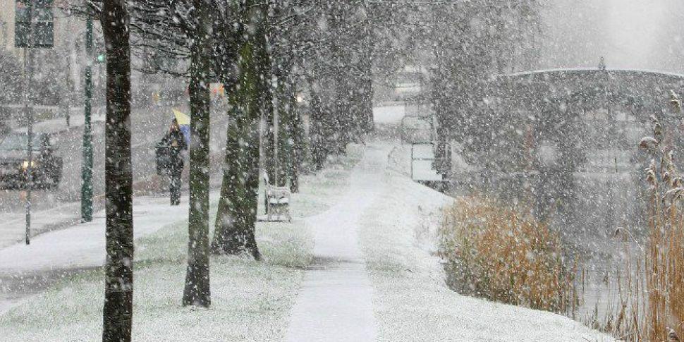 Sleet & Snow Set To Fall This...