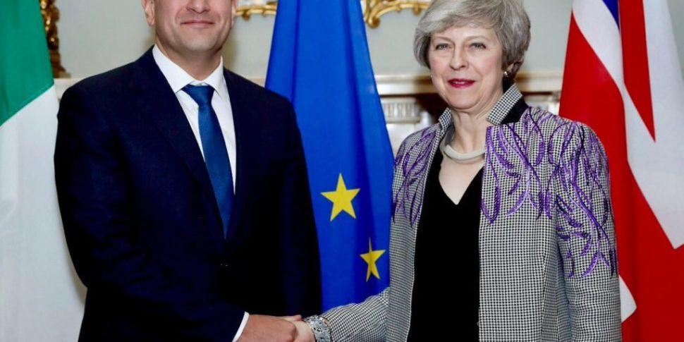 Taoiseach and Theresa May Disc...