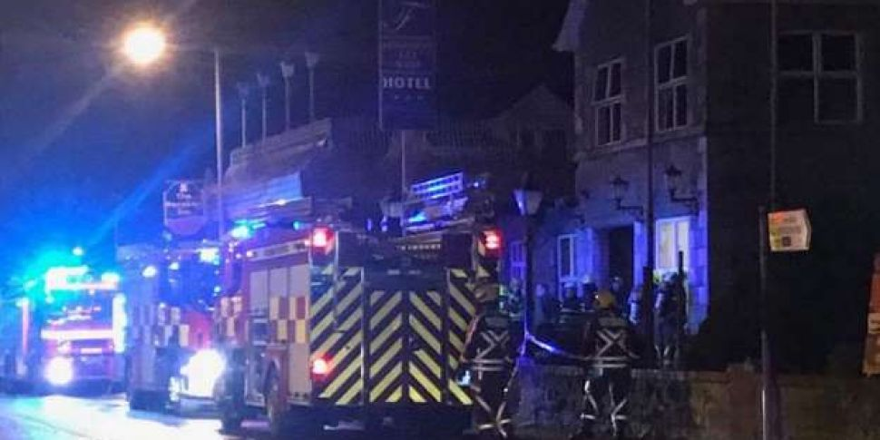 Fire At Hotel Earmarked For As...
