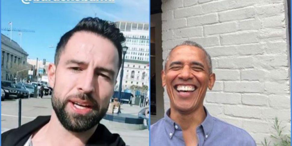 Irish Lad Bumps Into Obama: Th...