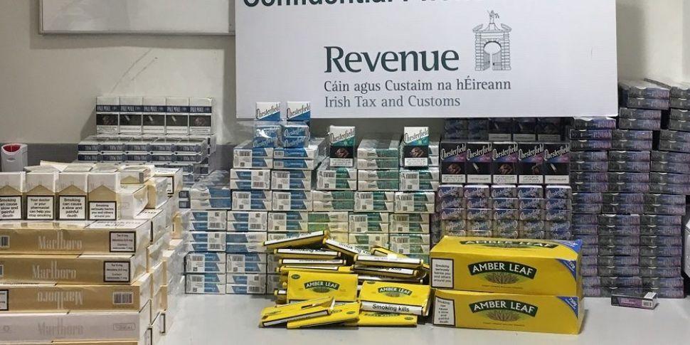Cigarettes Worth €20,000 Seize...