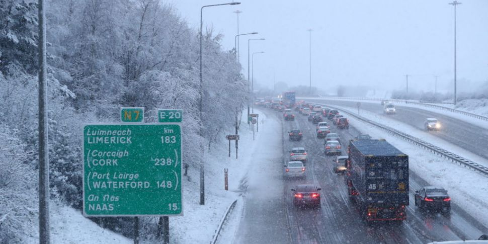 Met Eireann Says Snow Took The...
