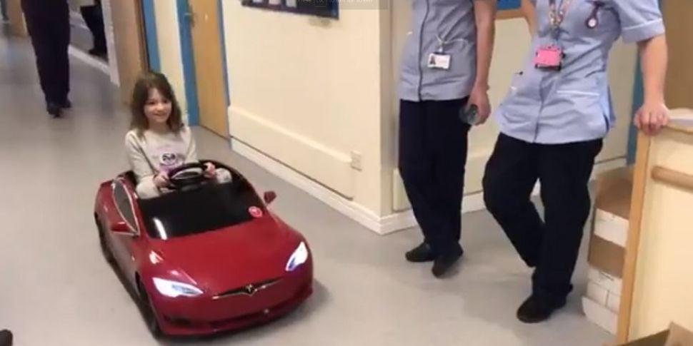 Children's Hospital Use Toy Ca...