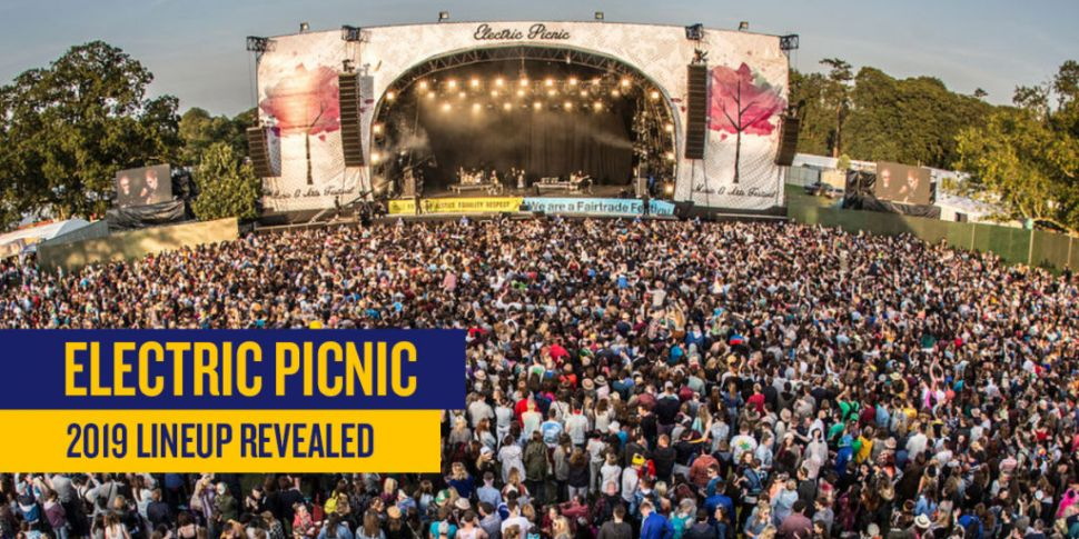 Massive Acts Announced For Ele...