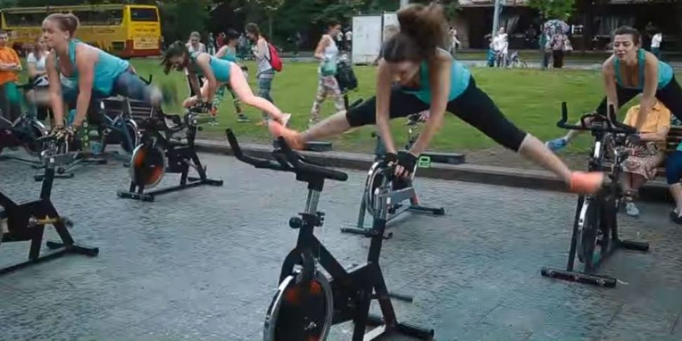 Think Spinning Is Hard? Try A...