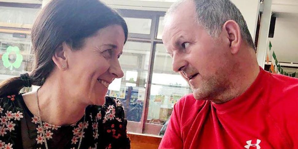 Sean Cox Gives Thumbs Up In Fi...