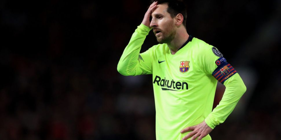 Messi almost quit Barcelona in...