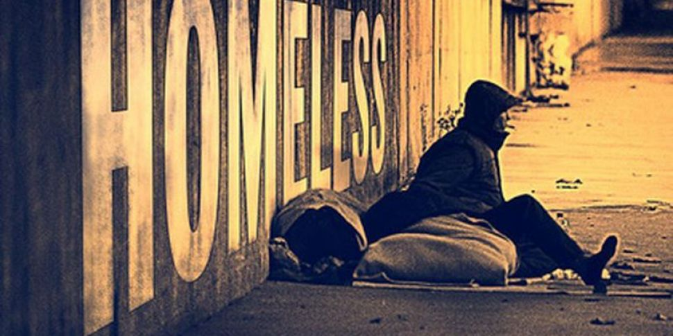 Homeless Numbers Drop Slightly...