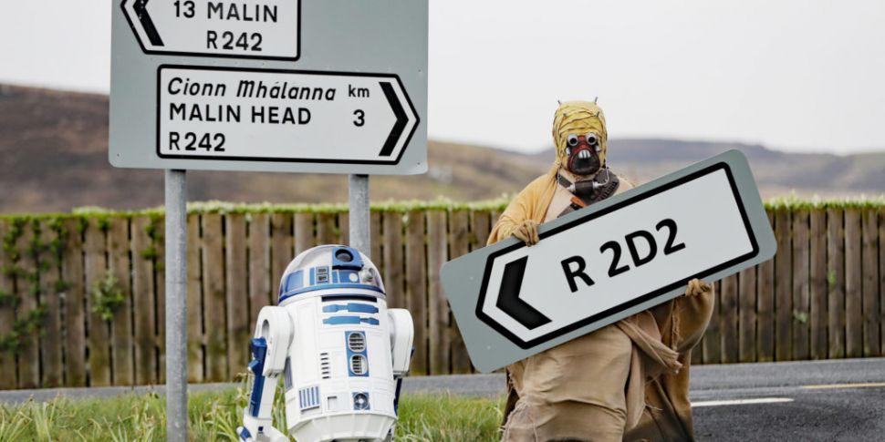 A Road In Donegal Has Been Ren...