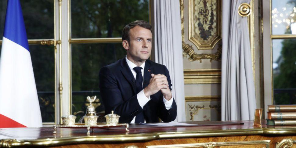 Macron Wants Notre Dame Rebuil...