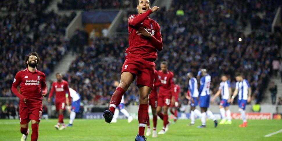 Van Dijk named PFA Player of t...