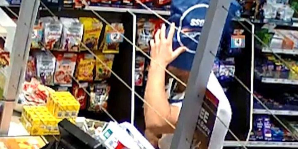 Robber Uses Bag On His Head As...