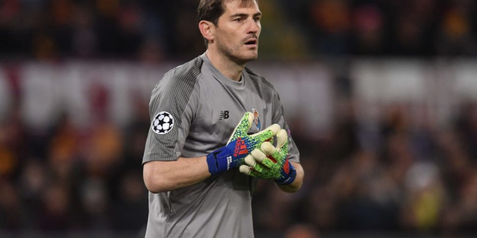 Iker Casillas suffers heart at...