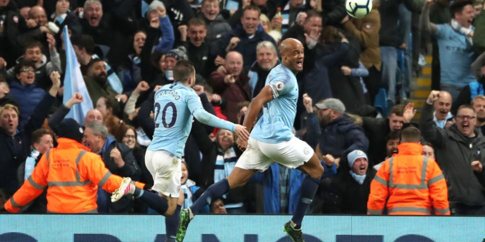 Kompany's stunning strike give...