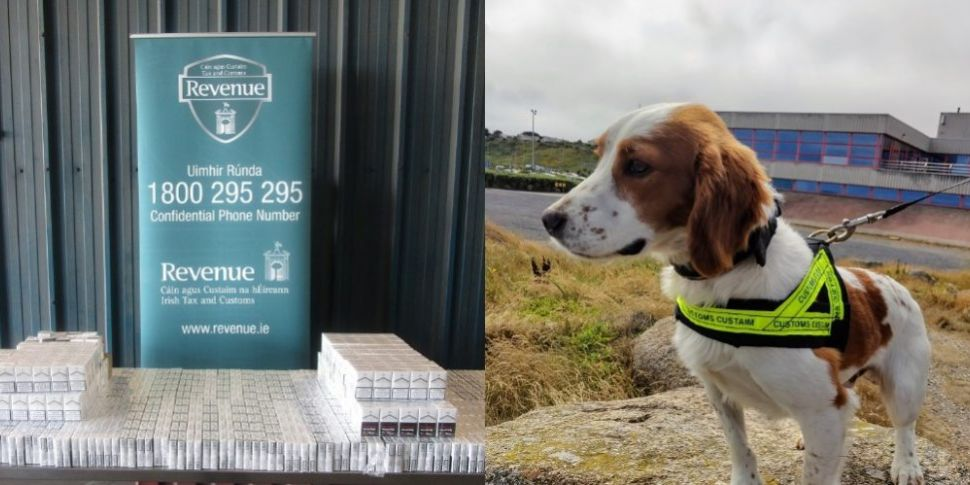 Detector Dog Sniffs Out 27,000...