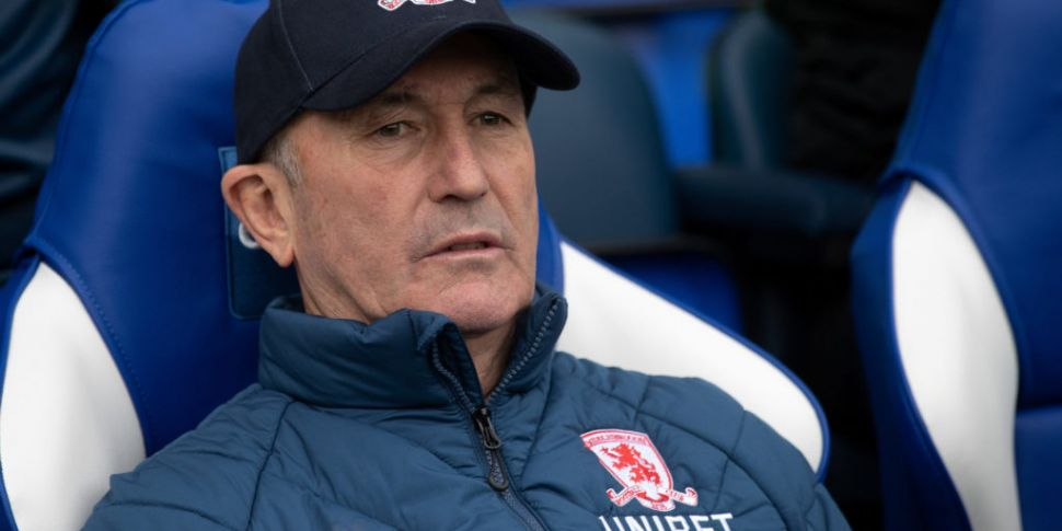 Tony Pulis sacked by Middlesbr...