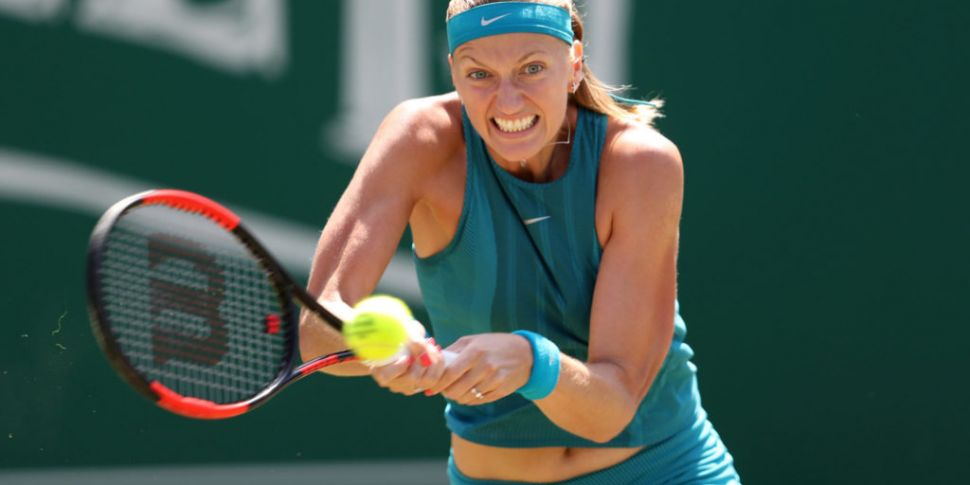 Kvitova forced to withdraw fro...