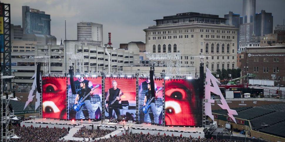 75,000 Metallica Fans Expected...