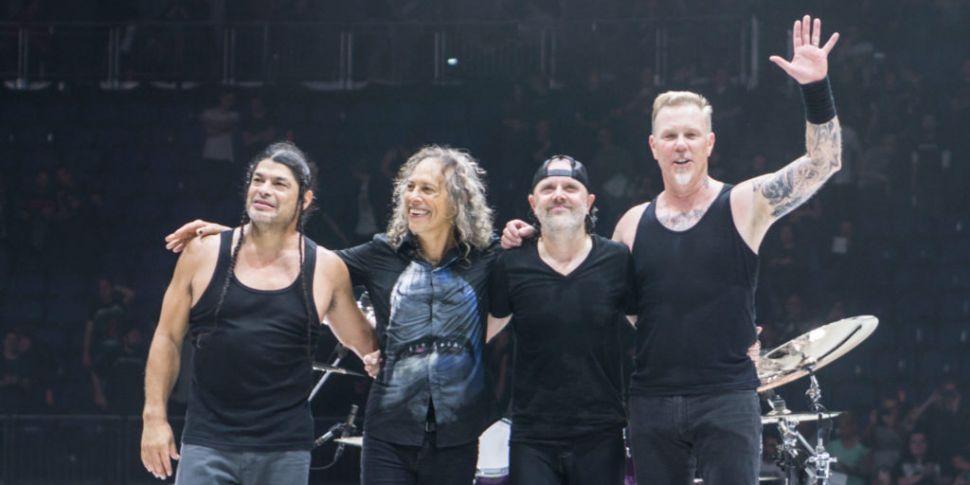 Metallica To Rock Slane On Jun...