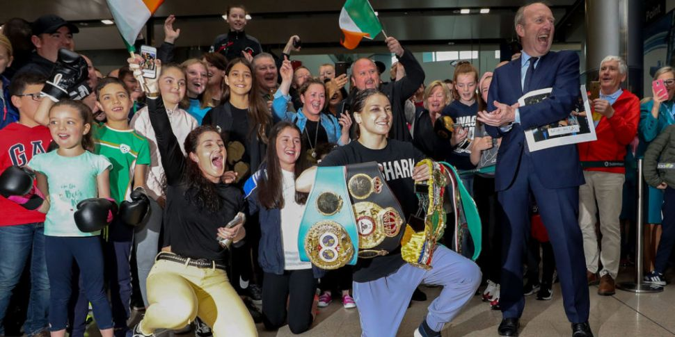 Bray To Welcome Katie Taylor H...
