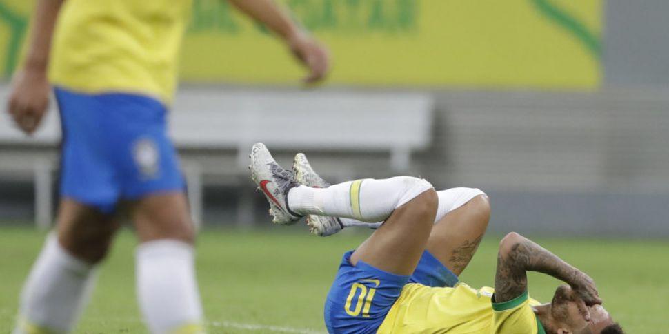 Brazil's Neymar out of Copa Am...