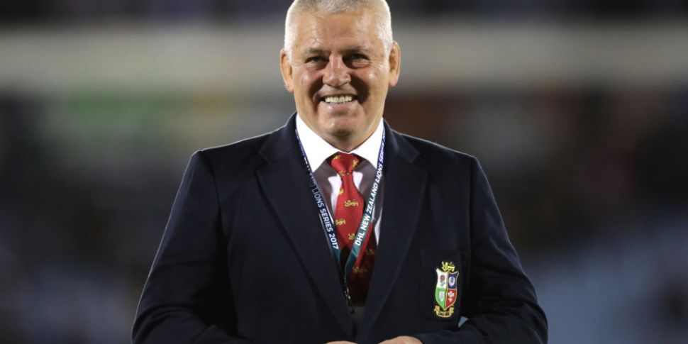 Gatland confirmed as Lions hea...