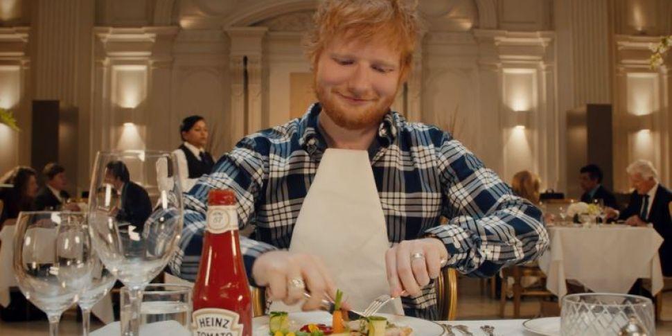 Heinz Releases New Ed Sheeran...