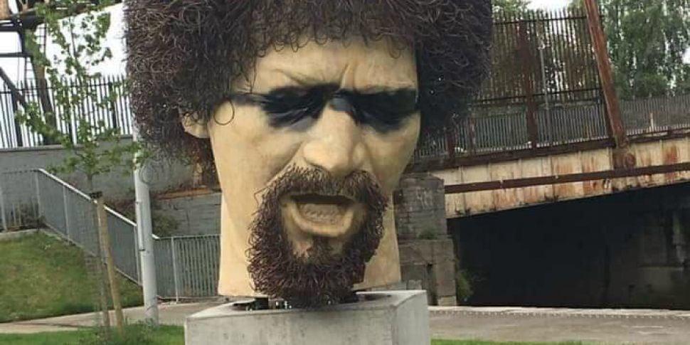 Luke Kelly Memorial Vandalised...
