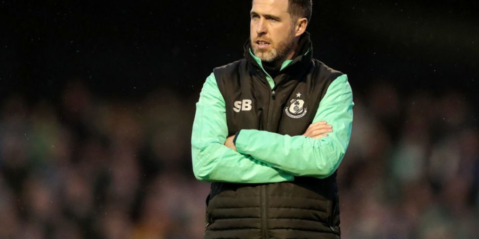 Shamrock Rovers manager Bradle...
