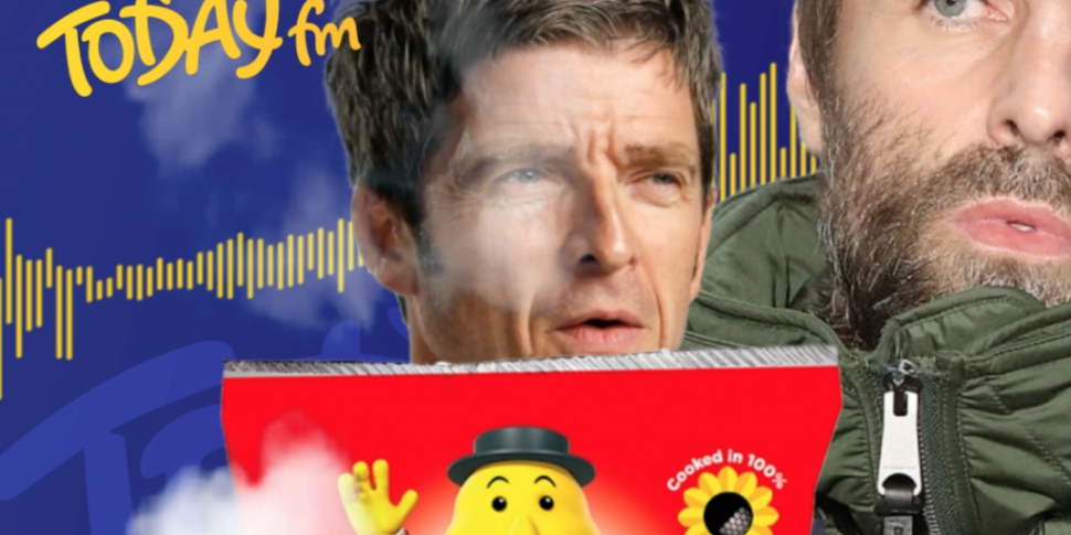Liam Gallagher Says Tayto Near...