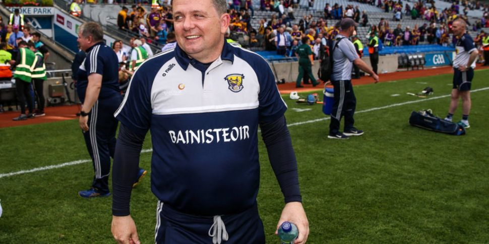 Davy Fitzgerald says he loves...