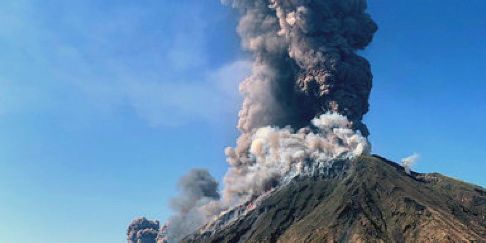 Tourist Killed As Volcano Erup...
