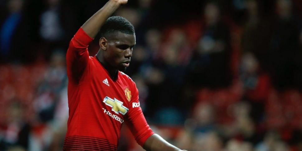 Paul Pogba's agent says Manche...