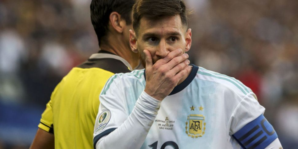 Lionel Messi hits out at