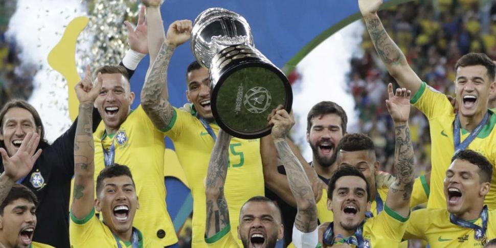 Brazil lift Copa America
