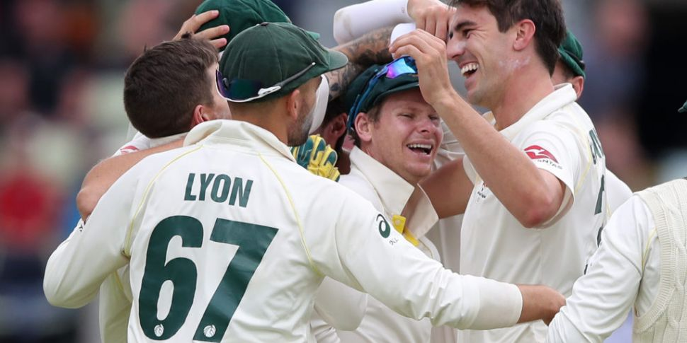 Australia claim first Test in...
