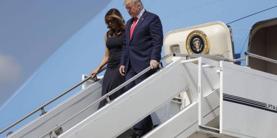 Trump Visits El Paso and Dayto...
