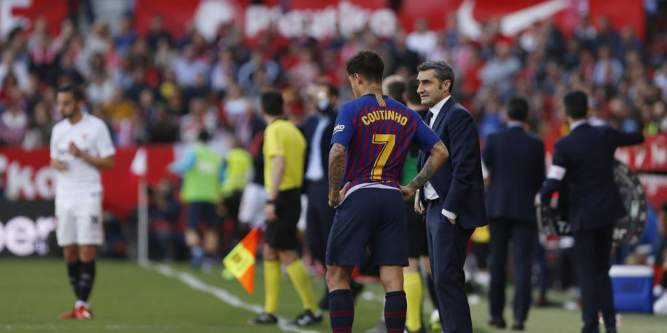 Barcelona boss Valverde expect...