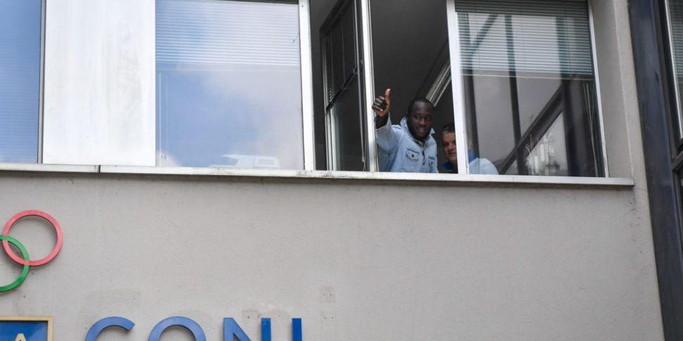 Romelu Lukaku signs for Inter...