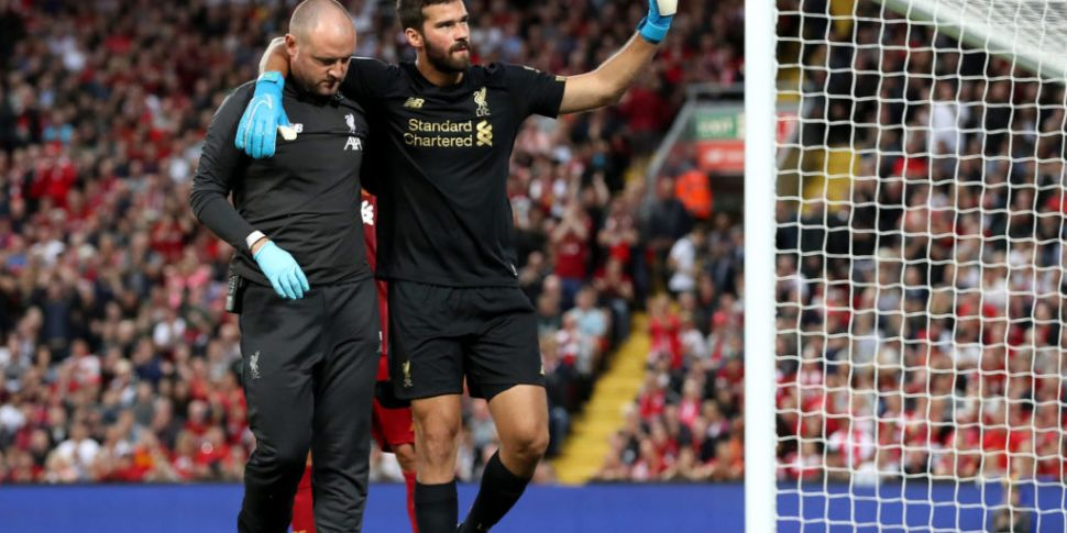 Liverpool hit by Alisson Becke...