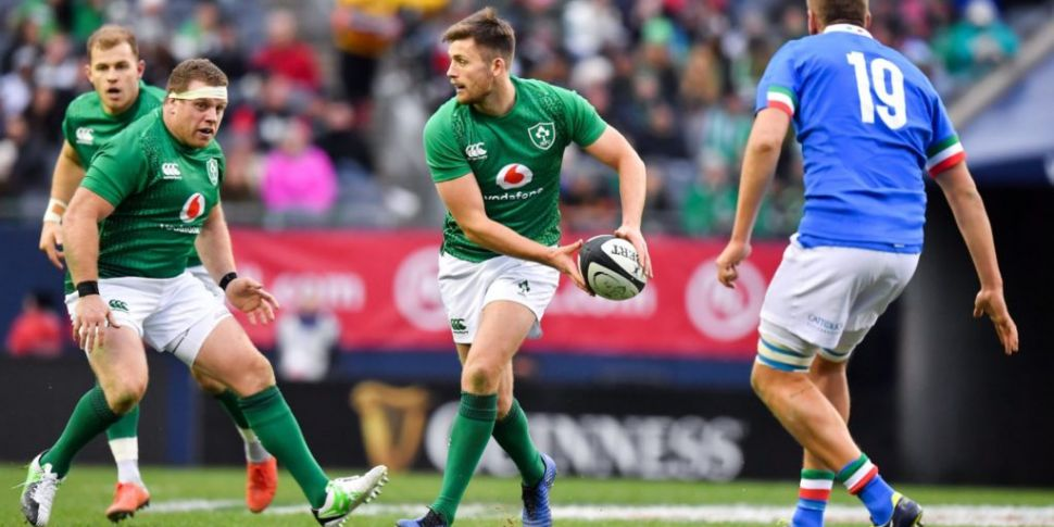 Ireland team to play England n...