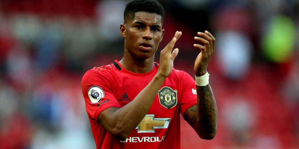 Public backing for Rashford in...