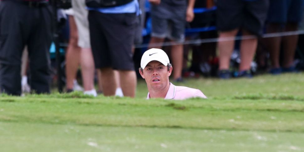 Rory McIlroy: 'It's only a mat...