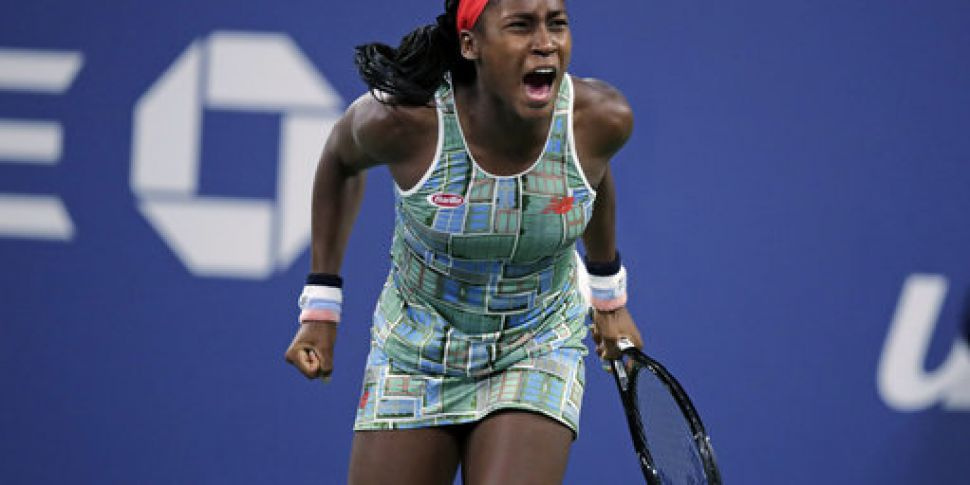 15-year-old Coco Gauff sets up...