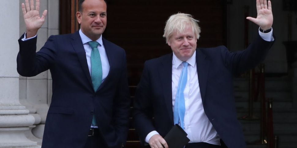 Taoiseach And British PM Meet...