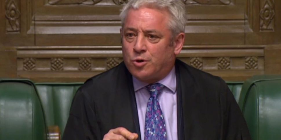 John Bercow To Stand Down As H...