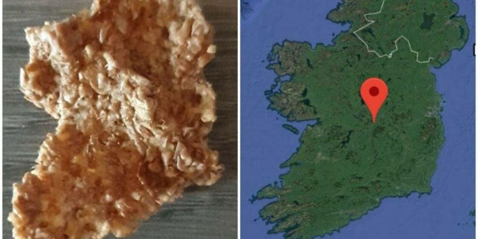 Bran Flake Shaped Like Ireland...