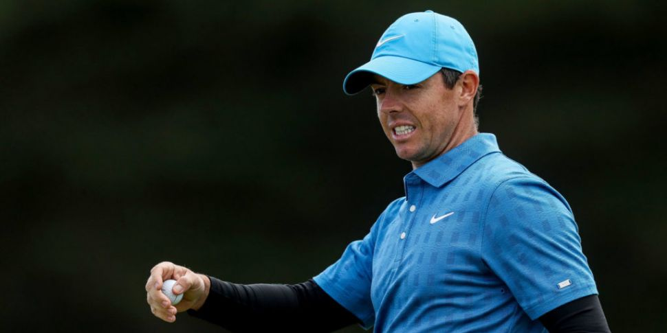 Rory McIlroy 14 shots off the...