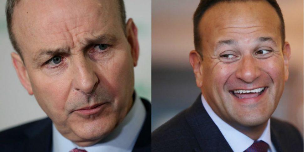 Taoiseach And Fianna Fáil Lead...