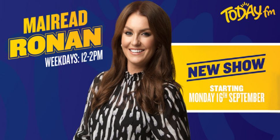 Catch Mairead Ronan Live On Ai...